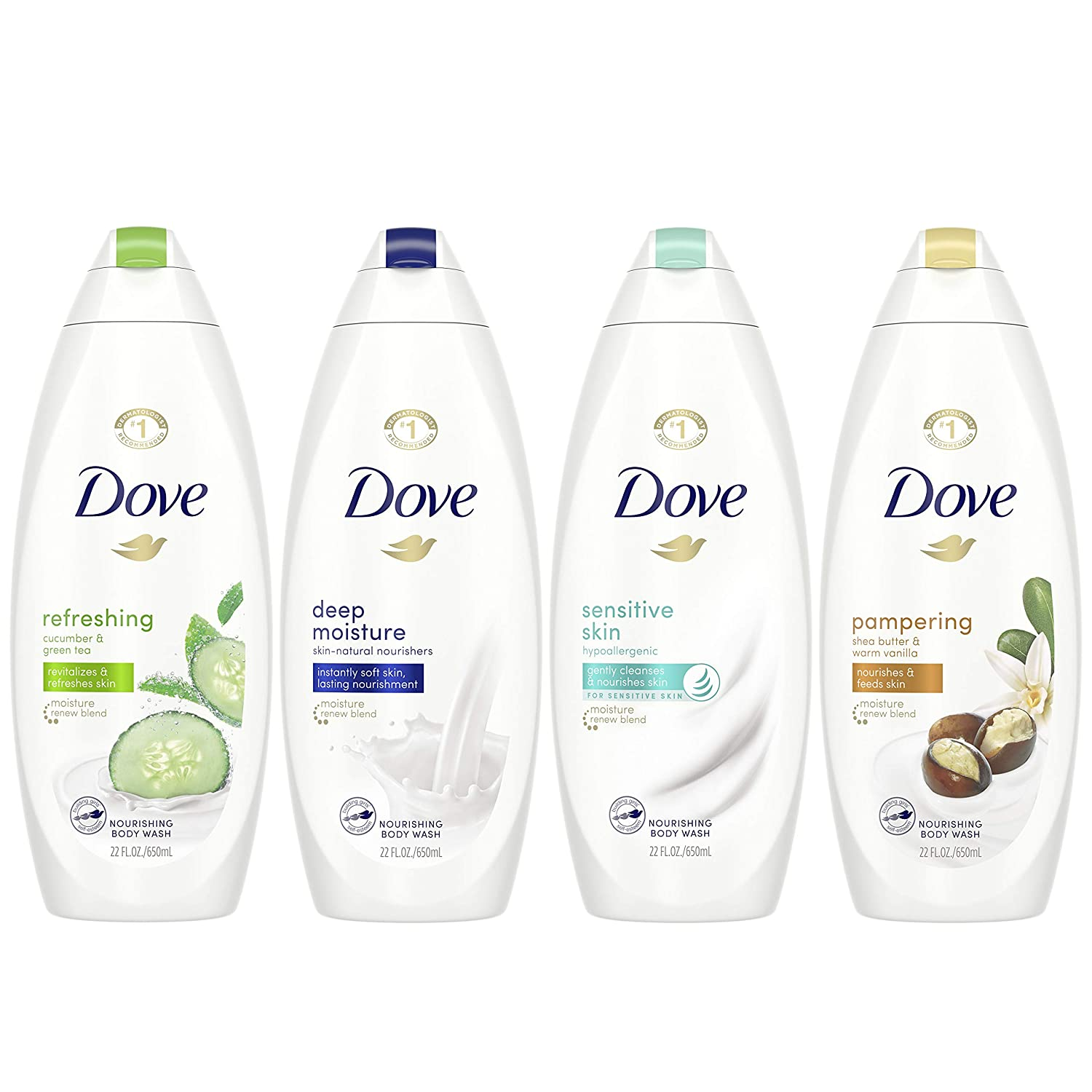 Dove Mixed Body Wash Pack